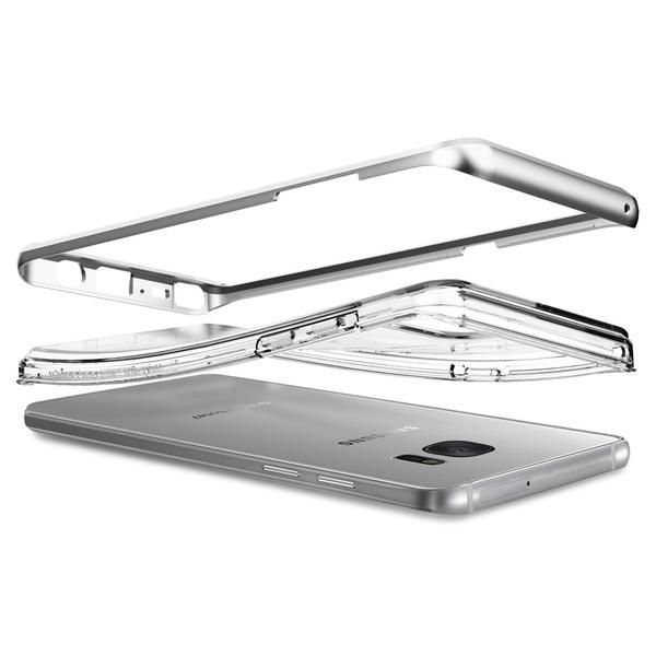 39399abba6b311 Spigen SGP Neo Hybrid Crystal Satin Silver   Obudowa ochronna dla modelu Samsung  Galaxy Note 7